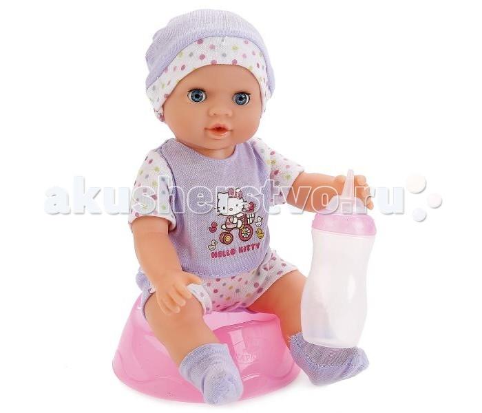 Куклы и одежда для кукол Карапуз Кукла Пупс Hello Kitty 25 см Y25DP-789-RU-HK куклы карапуз пупс карапуз hello kitty 20 см 3 функции пьет писает закрывает глазки с аксессуарами