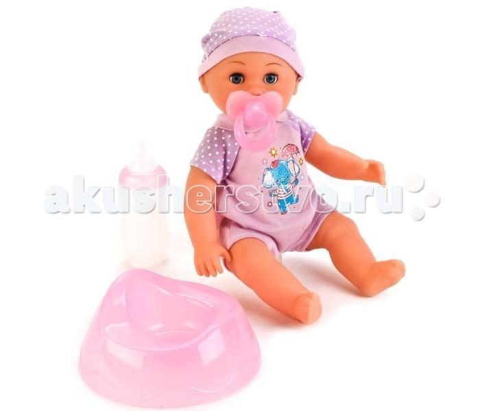 Куклы и одежда для кукол Карапуз Кукла Пупс 25 см куклы карапуз кукла карапуз принцесса рапунцель 25 см