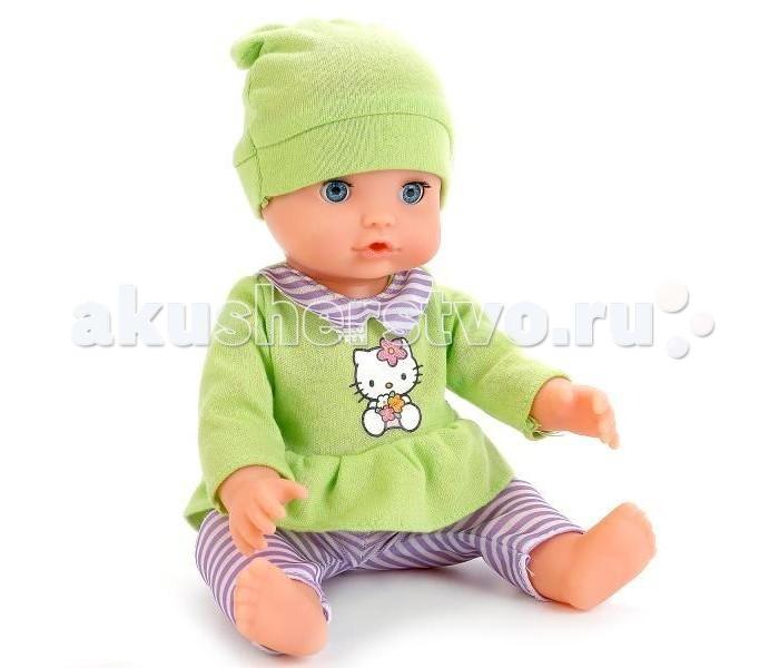 Куклы и одежда для кукол Карапуз Кукла Hello Kitty Пупс 25 см Y25DP-NN-RU-HK куклы карапуз пупс карапуз hello kitty 20 см 3 функции пьет писает закрывает глазки с аксессуарами