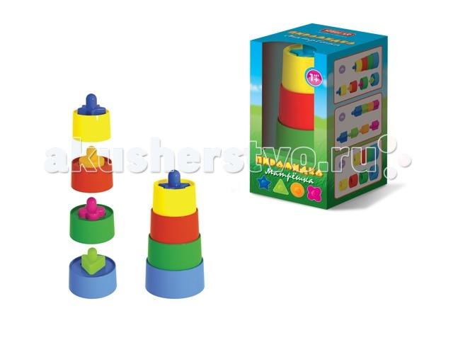 Развивающие игрушки Стеллар Пирамидка Матрешка развивающие игрушки стеллар пирамида занимательная большая
