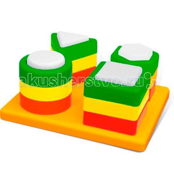 Развивающие игрушки Стеллар Чудо-пирамидка развивающие игрушки spiegelburg пирамидка baby gluck