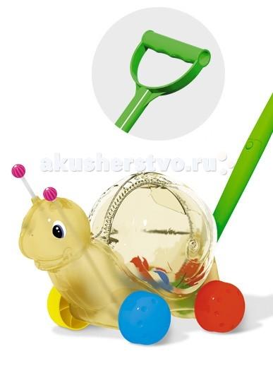 Каталки-игрушки Стеллар Улитка музыкальные игрушки стеллар дудочка