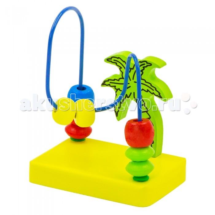 Деревянные игрушки Alatoys Лабиринт Пальма деревянные игрушки alatoys пазлы собачки