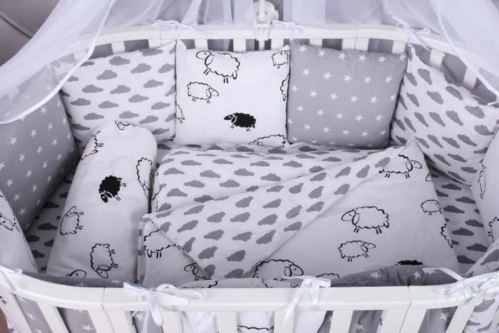 Постельные принадлежности , Комплекты в кроватку AmaroBaby Good Nigt (15 предметов) арт: 476281 -  Комплекты в кроватку