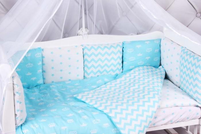 Комплект в кроватку AmaroBaby Royal Baby (15 предметов)