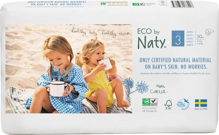 Подгузники Naty Подгузники Размер 3 (4-9 кг) 52 шт.