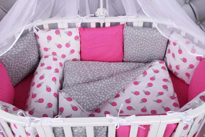 Комплект в кроватку AmaroBaby Sweet (15 предметов)