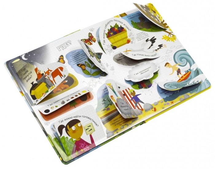 Развивающие книжки Робинс Книга Вопросы и ответы о природе книги издательство робинс большая книга детских праздников трафареты выкройки