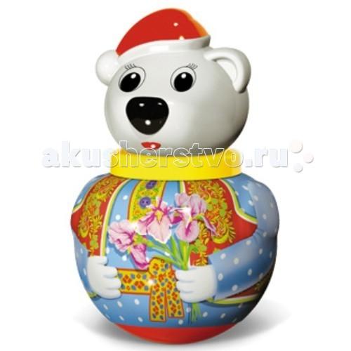 Развивающие игрушки Стеллар Неваляшка малая Белый медведь Тема стеллар неваляшка бурый медведь потапыч в ассортименте стеллар