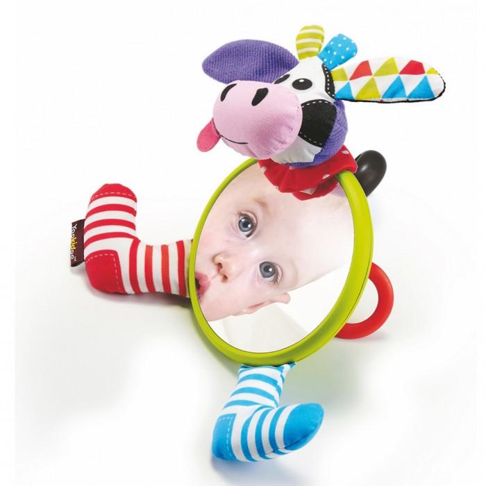 Подвесные игрушки Yookidoo Игрушка-зеркальце Коровка, Подвесные игрушки - артикул:476541