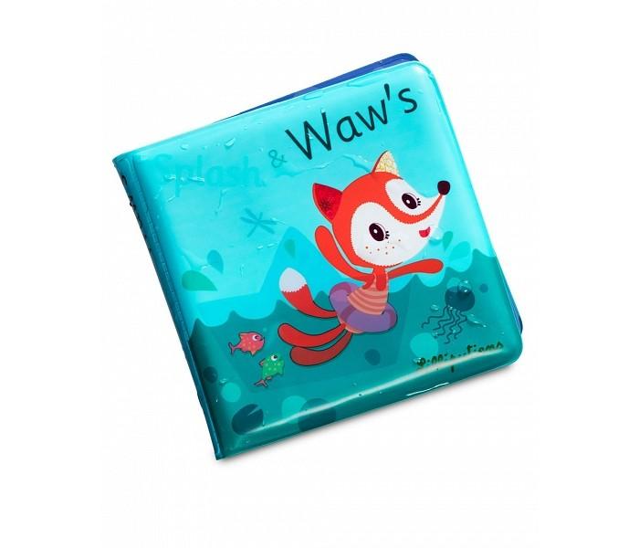 Купание малыша , Игрушки для ванны Lilliputiens Книжка для ванны волшебная Алиса купается арт: 476561 -  Игрушки для ванны