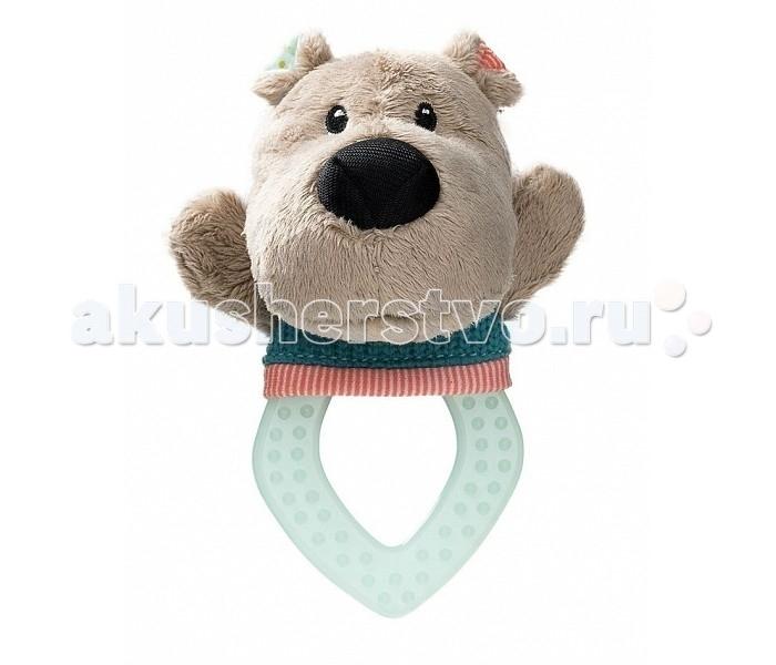 Погремушки Lilliputiens прорезыватель Медвежонок Цезарь погремушка прорезыватель малышарики танцующий медвежонок