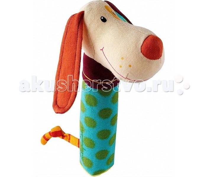 Погремушки Lilliputiens пищалка Собачка Джеф погремушка щенок