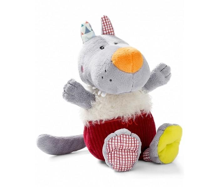 Купить Мягкие игрушки, Мягкая игрушка Lilliputiens Волк Николас 86821