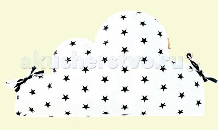 Бортики в кроватку Macik Black&White Облако 1 шт.