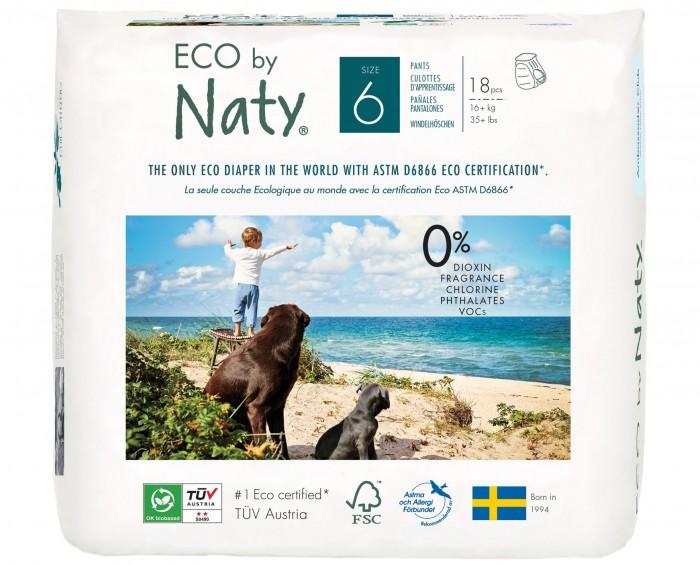 Подгузники-трусики Naty Размер 6 (16+ кг) 18 шт.