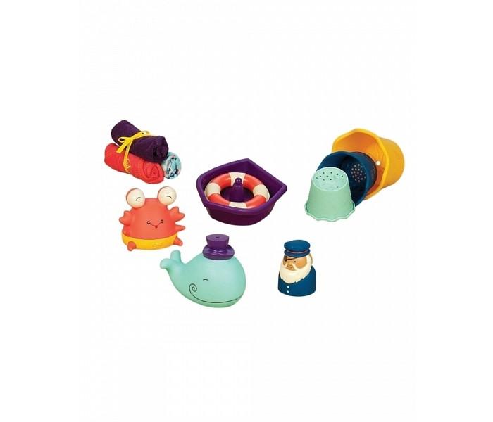 Купание малыша , Игрушки для ванны B.Toys Набор игрушек для ванной Давай плескаться арт: 477476 -  Игрушки для ванны