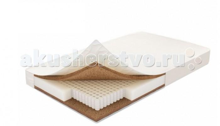 Матрас Polini Фантазия Кокос 190х90х16 смФантазия Кокос 190х90х16 смМатраc Polini Фантазия Кокос 190х90х16 см двусторонней жесткости на основе блока независимых пружин высотой 14 см., в состав которого также входит слой латексированной кокосовой коры толщиной 1 см.(с каждой стороны) и каркасный слой- термоволокно для усиления периметра матраса.   Сочетание наполнителей позволяет добиться максимального ортопедического эффекта, рекомендованы для правильного формирования позвоночника ребенка. Съемный чехол на молнии из ткани премиального качества обладает бактерицидными свойствами. Чехол из микрофибры Ultrastep 100% хлопок.  Габариты изделия: 190 х 90 х 16 см<br>