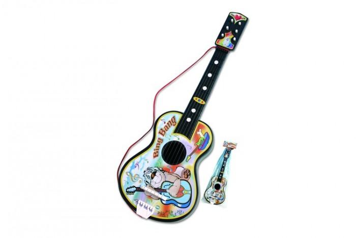 Музыкальные игрушки Dohany Kft Гитара большая каталки dohany kft авто 109
