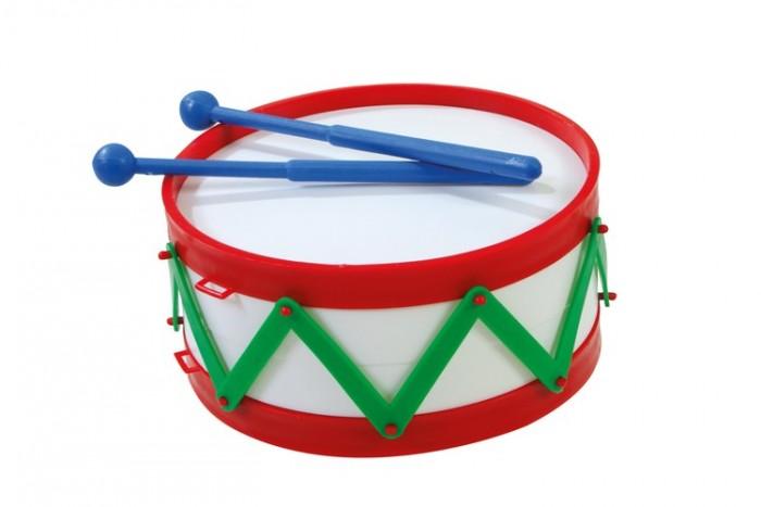 Музыкальные игрушки Dohany Kft Барабан малый каталки dohany kft авто 109
