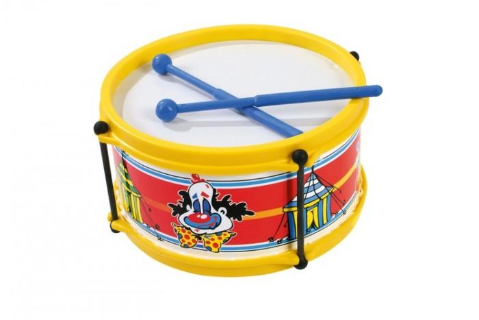 Музыкальные игрушки Dohany Kft Барабан большой каталки dohany kft авто 109