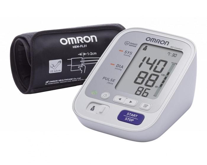 Тонометры и глюкометры Omron Тонометр M3 Comfort HEM-7134-E