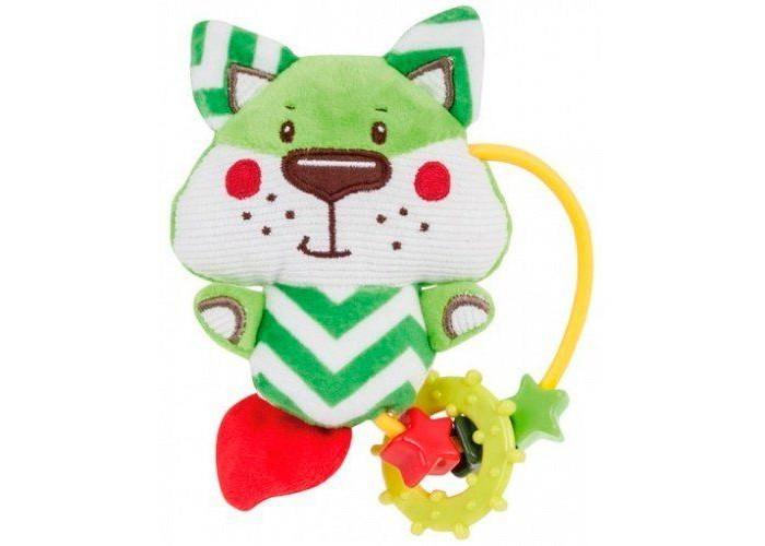Картинка для Погремушки Canpol Мягкая игрушка с прорезывателем Forest Friends Лисенок