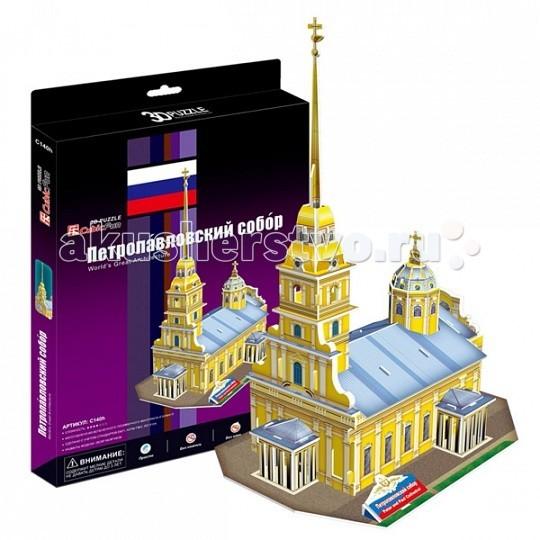 Конструкторы CubicFun 3D пазл Петропавловский собор (Россия)