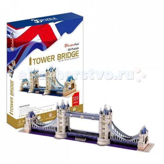 Сборные модели CubicFun 3D пазл Тауэрский Мост (Великобритания)