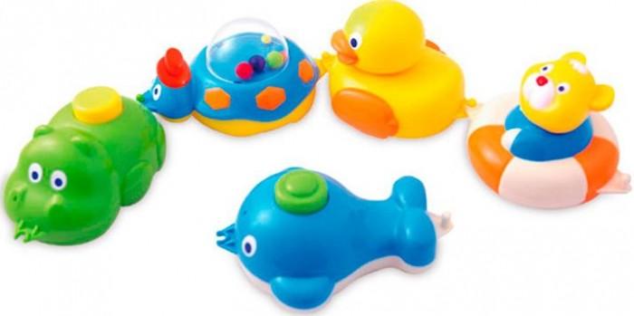 Купание малыша , Игрушки для ванны Canpol Игрушки для ванны 5 фигурок 6+ 2/594 арт: 479701 -  Игрушки для ванны