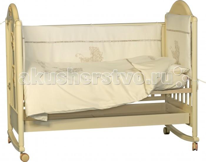 Комплекты в кроватку Папитто Мой Малыш (6 предметов) комплекты в кроватку папитто плюшевый мишка 6 предметов