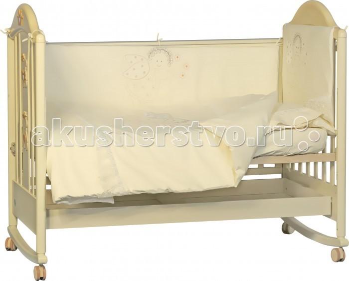 Комплект в кроватку Папитто Ангелочек (6 предметов)
