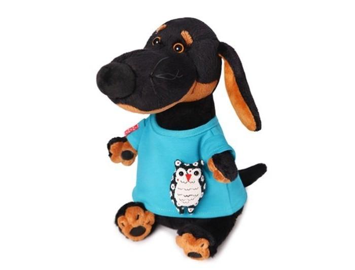Мягкая игрушка Budi Basa Ваксон в футболке с совой 25 cм