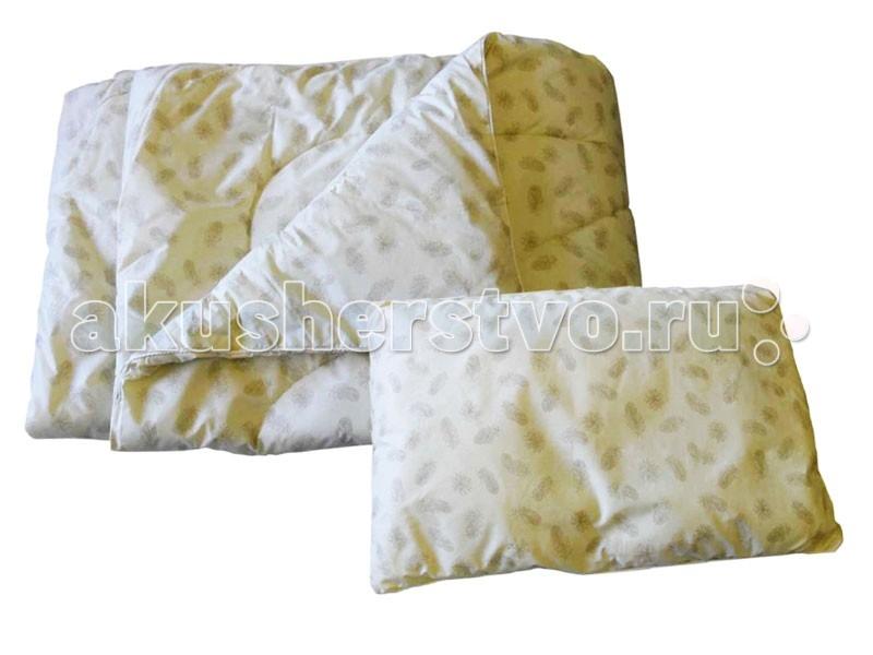 Постельные принадлежности , Одеяла Папитто + подушка (синтетический заменитель лебяжего пуха) арт: 48164 -  Одеяла