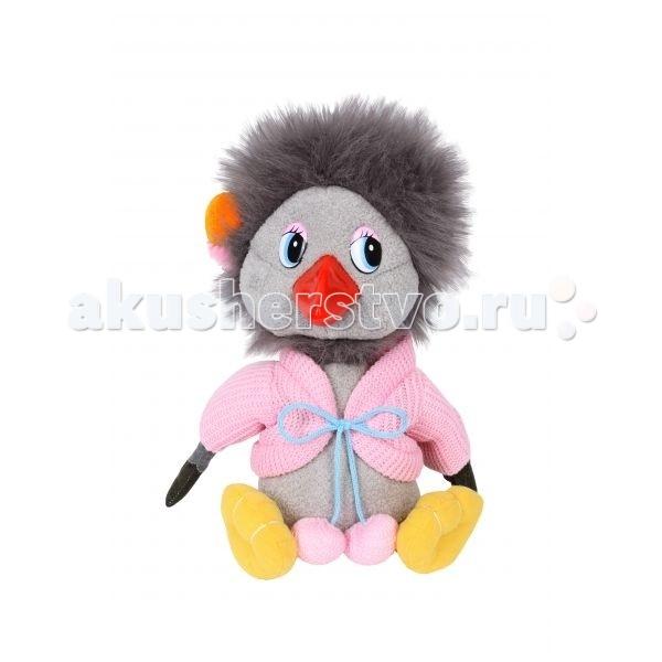 Мягкие игрушки Мульти-пульти Каркуша с мягким клювом 18 см мульти пульти мягкая игрушка эдди 18 см со звуком пингвиненок пороро мульти пульти
