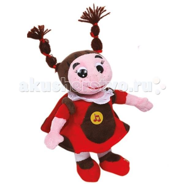 Мягкие игрушки Мульти-пульти Божья коровка Мила 23 см мягкие кресла romana пуфик божья коровка