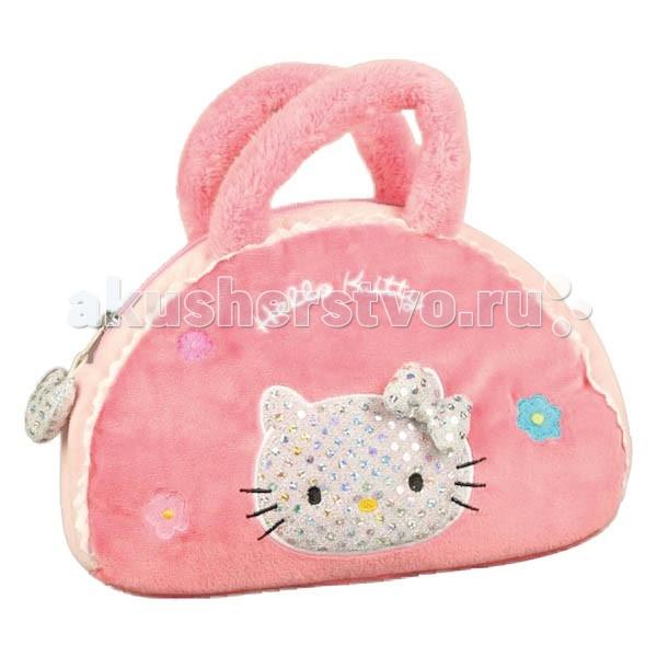 Сумки для детей Мульти-пульти Мягкая сумочка Hello Kitty мульти пульти мягкая игрушка принцесса луна 18 см со звуком my little pony мульти пульти