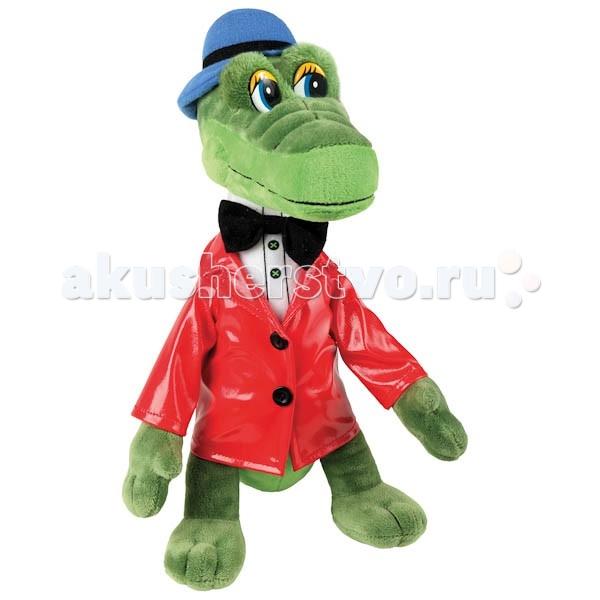 Купить Мягкие игрушки, Мягкая игрушка Мульти-пульти Крокодил Гена 21 см