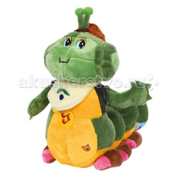 Мягкие игрушки Мульти-пульти Гусеница - прогульщик 27 см фигурки игрушки prostotoys пупсень серия лунтик и его друзья
