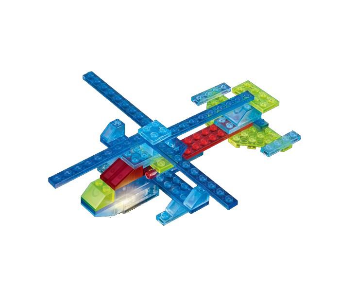 Конструкторы Crystaland Светящийся Вертолёт 4 в 1 (50 деталей) диадема pur pur pur pur pu007dwvvv31