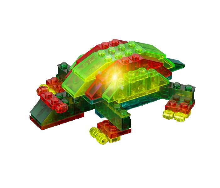Конструктор Crystaland Светящийся Морские животные 4 в 1 (57 деталей)