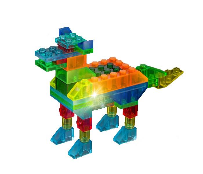 Конструктор Crystaland Светящийся Животные 4 в 1 (47 деталей)