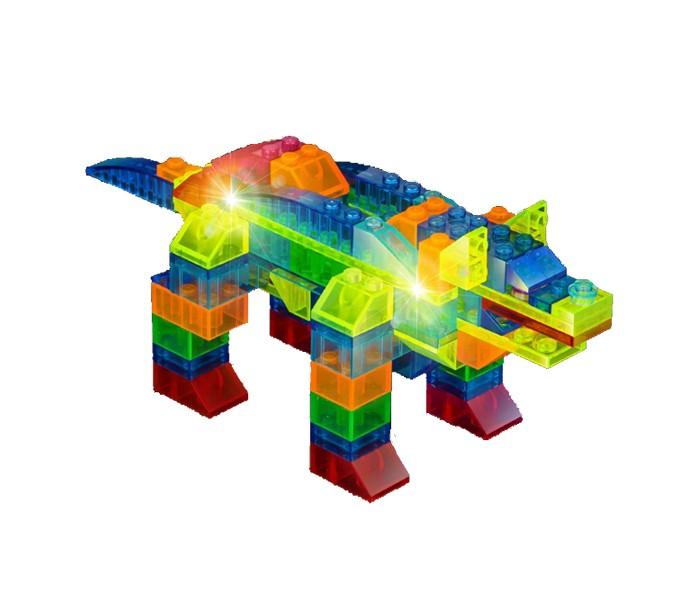 Конструктор Crystaland Светящийся Животные 6 в 1 (99 деталей)
