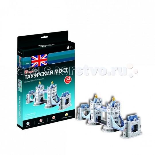 Сборные модели CubicFun 3D пазл Тауэрский Мост (Великобритания) мини серия