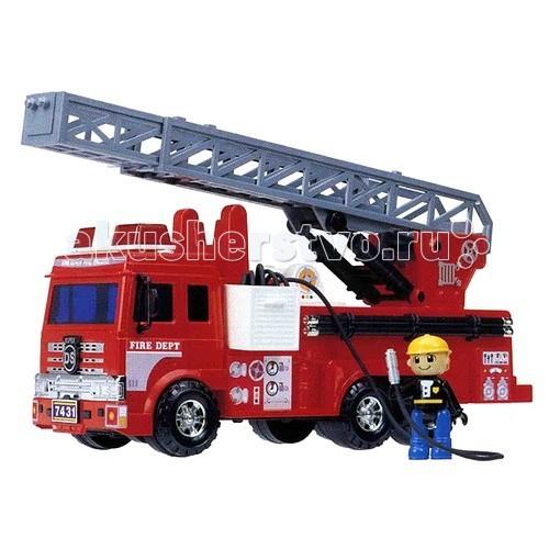 Машины Daesung Модель автотехники Пожарная машина 926 комплект из 2 трусов