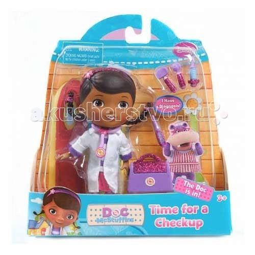 Куклы и одежда для кукол Doctor Plusheva Кукла Дотти с аксессуарами 14 см 90045 doctor plusheva чемоданчик доктора