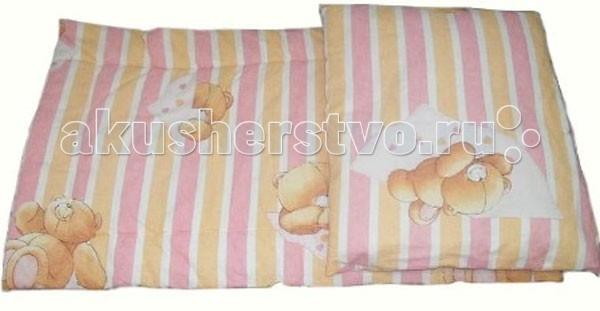 Комплекты в коляску Папитто Комплект в коляску матрасик с подушкой