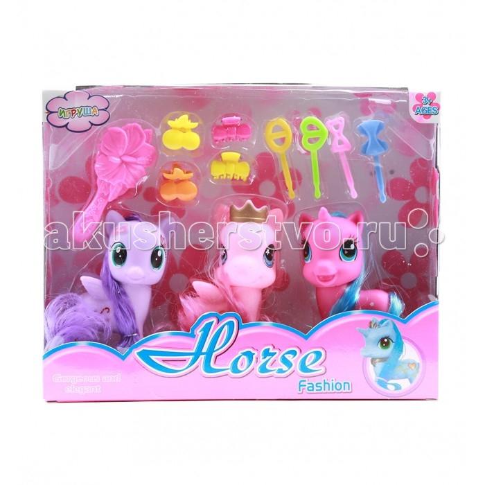 Игровые наборы Игруша Набор для девочки Пони i-022-3 игровые наборы игруша игровой набор кухня