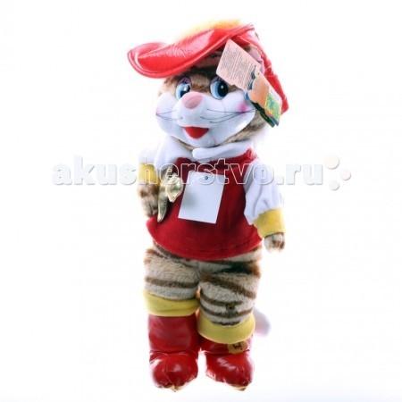 Купить Мягкие игрушки, Мягкая игрушка Мульти-пульти Кот в сапогах 28 см