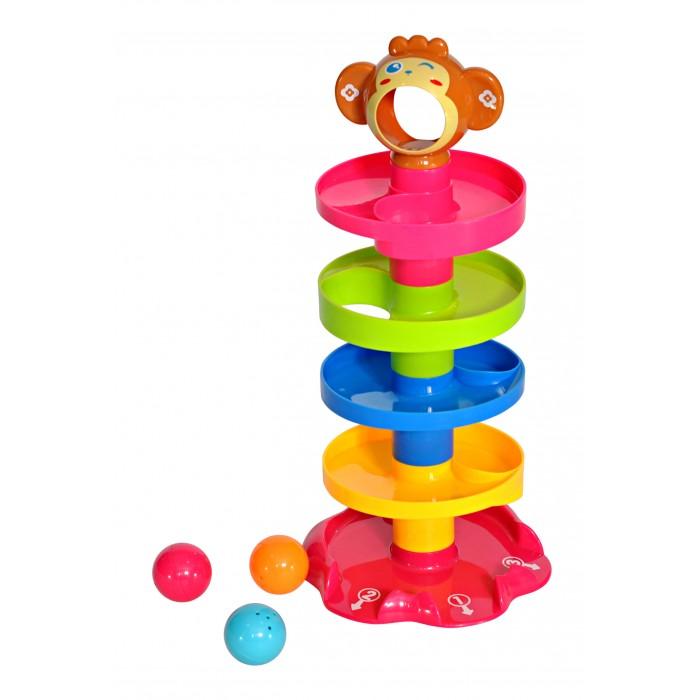 Картинка для Развивающая игрушка Everflo Пирамидка Обезьянка